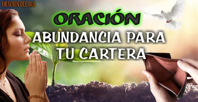 ORACIÓN DE ABUNDANCIA PARA TU CARTERA