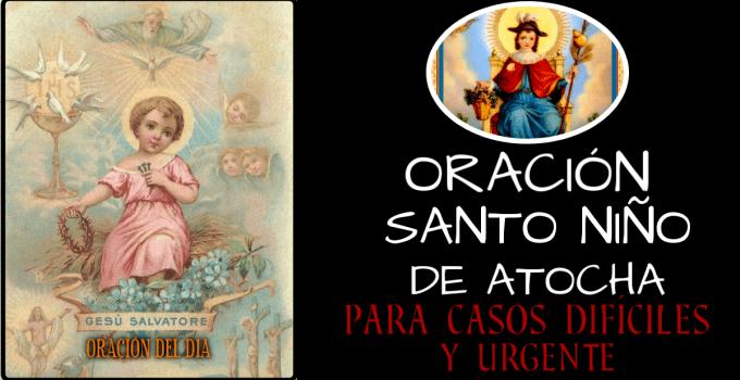 ORACIÓN AL SANTO NIÑO DE ATOCHA