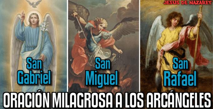 oración milagrosa a los arcángeles celestiales
