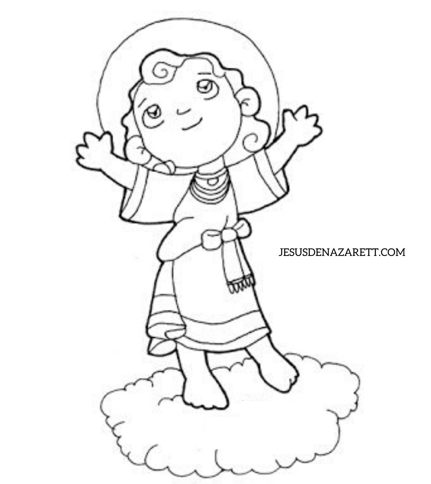 Dibujos De Jesus De Nazaret Para Colorear Jesusdenazarett Com